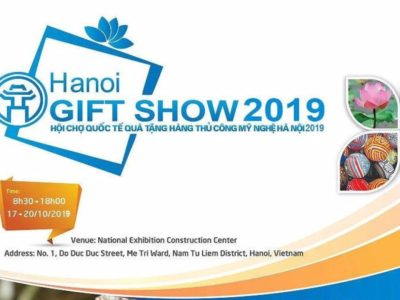 Tham dự Hội chợ Hanoi Gift Show 2019 !