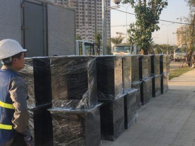 BÀN GIAO HỆ THỐNG PHAO NỔI VINHOMES SMART CITY